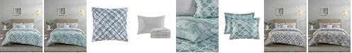 Madison Park Essentials Cleo Reversible 8-Piece Full Bedding Set