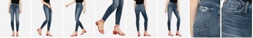 FLYING MONKEY Women's High Rise Skinny Ankle Jeans