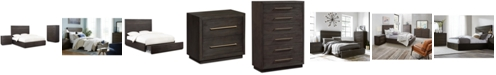 Furniture Cambridge Storage Platform Bedroom Furniture, 3-Pc. Set (Full Bed, Chest & Nightstand), Created for Macy's