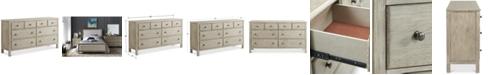 Furniture Parker 8 Drawer Dresser, Created for Macy's