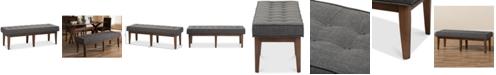 Furniture Morleen Bench, Quick Ship