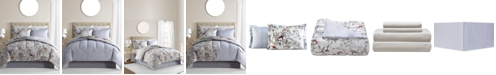 Fairfield Square Collection  CLOSEOUT! Evelyn 6-Pc. Reversible Twin Comforter Set