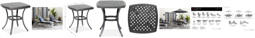 "Furniture 20"" Outdoor End Table (Montclaire & Vintage II), Created for Macy's"
