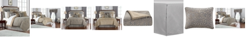 Waterford Reversible Carrick Reversible 4-Pc. Queen Comforter Set