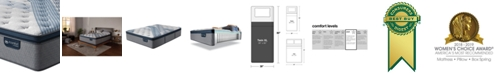 "Serta iComfort by Blue Fusion 1000 14.5""  Hybrid  Plush Euro Pillow Top Mattress - Twin XL"