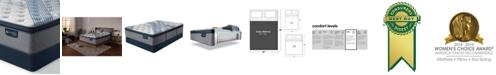 "Serta iComfort by Blue Fusion 1000 14.5""  Hybrid  Plush Euro Pillow Top Mattress Set - Queen Split"