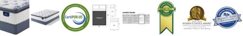 Serta Perfect Sleeper 13.75'' Broadview Plush Pillow Top Mattress Set- Full