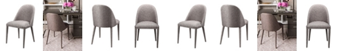 Moe's Home Collection Libby Dining Chair Gray-Set Of Two