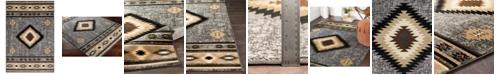 """Surya Paramount PAR-1094 Charcoal 6'7"""" x 9'6"""" Area Rug"""