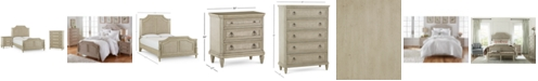 Furniture Chelsea Court Bedroom Furniture, 3-Pc. Set (California King Bed, Nightstand & Chest), Created for Macy's