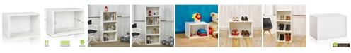 Way Basics Eco Stackable Large Rectangle Shelf and Storage Organizer