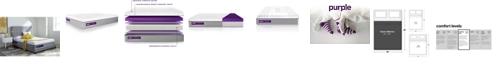 "Purple .4  13"" Cushion Firm Mattress - Queen"