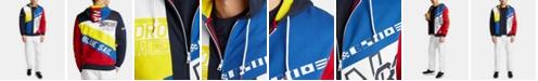 Nautica Men's Artist Series Blue Sail Full-Zip Hoodie, Created for Macy's