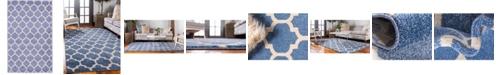 """Bridgeport Home Arbor Arb1 Light Blue 3' 3"""" x 5' 3"""" Area Rug"""