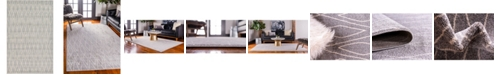 Bridgeport Home Fio Fio1 Gray 5' x 8' Area Rug