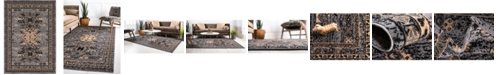 Bridgeport Home Charvi Chr1 Gray 7' x 10' Area Rug