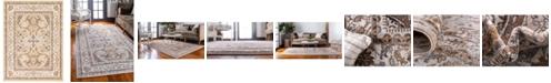 Bridgeport Home Wisdom Wis2 Ivory 9' x 12' Area Rug
