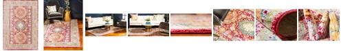 Bridgeport Home Malin Mal1 Red 6' x 9' Area Rug
