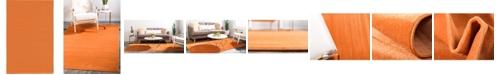 Bridgeport Home Axbridge Axb3 Orange 5' x 8' Area Rug