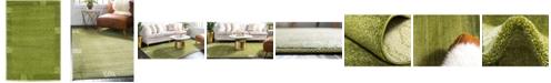 "Bridgeport Home Lyon Lyo1 Green 2' 2"" x 3' Area Rug"