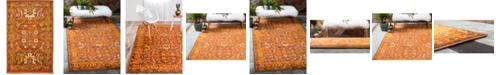 Bridgeport Home Linport Lin3 Terracotta 2' x 3' Area Rug