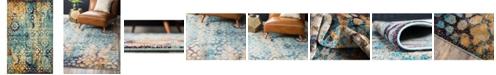 "Bridgeport Home Brio Bri1 Blue 10' 6"" x 16' 5"" Area Rug"