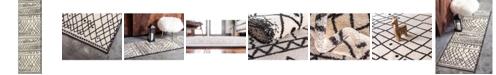Bridgeport Home Fio Fio2 Beige 2' x 6' Runner Area Rug
