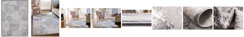 Bridgeport Home Aitana Ait3 Gray 9' x 12' Area Rug