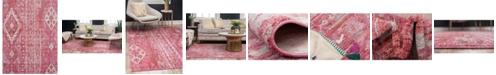 Bridgeport Home Nira Nir2 Pink 9' x 12' Area Rug