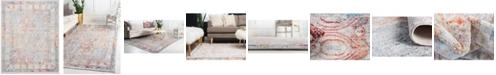 Bayshore Home Bridgeport Home Zilla Zil2 Ivory 8' x 10' Area Rug