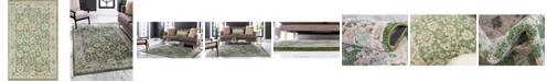 "Bridgeport Home Lorem Lor3 Green 3' 3"" x 5' 3"" Area Rug"