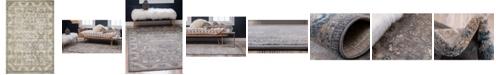 Bridgeport Home Bellmere Bel6 Gray 4' x 6' Area Rug