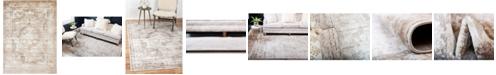 Bridgeport Home Basha Bas2 Beige 8' x 11' Area Rug