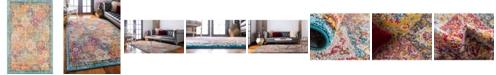"""Bridgeport Home Lorem Lor2 Multi 3' 3"""" x 5' 3"""" Area Rug"""