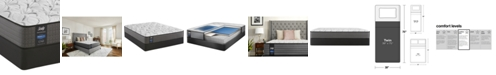 "Sealy Posturepedic Lawson LTD 11.5"" Cushion Firm Mattress Set- Twin"