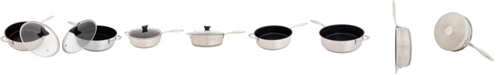 Ozeri Stainless Steel All-In-One Sauce Pan with APEO-Free Non-Stick Coating