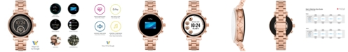 Michael Kors Access Women's Gen 4 Sofie  Rose Gold-Tone Stainless Steel Bracelet Touchscreen Smart Watch 41mm, Powered by Wear OS by Google™