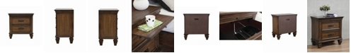 Coaster Home Furnishings Franco 2-Drawer Nightstand with Pull Out Tray