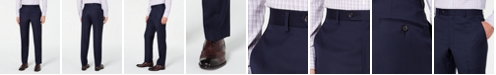 Lauren Ralph Lauren Men's Slim-Fit UltraFlex Stretch Navy Solid Suit Separate Pants