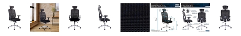 RTA Products Techni Mobili Mesh Office Chair