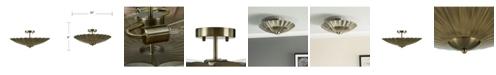 Southern Enterprises Margaret Modern Vintage like Flush mount Lamp