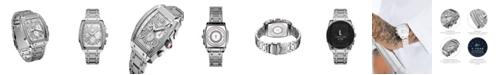 Jbw Men's Echelon Platinum Series Diamond (3 ct. t.w.) Stainless Steel Watch, 41Mm
