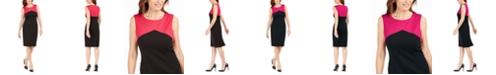 Kasper Ponté-Knit Sheath Dress