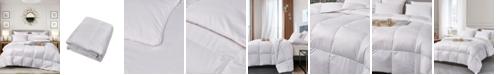 Elle Decor Ultra-Soft Nano-Touch Extra Warmth White Down Fiber Comforter, Twin