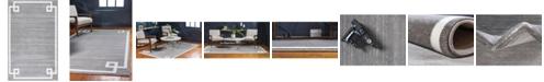Jill Zarin Lenox Hill Uptown Jzu005 Gray 5' x 8' Area Rug