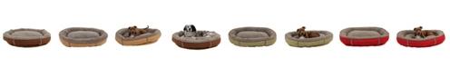 Carolina Pet Company Tipped Berber Round Comfy Cup Dog Bed