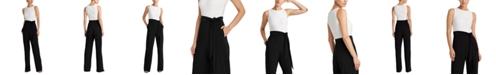 Lauren Ralph Lauren Petite Two-Tone Jersey Jumpsuit