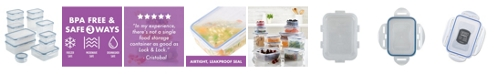 Lock n Lock Easy Essentials Basics 24-Pc. Food Storage Container Set