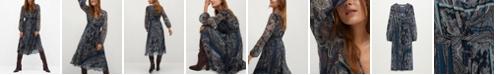 MANGO Women's Flowy Printed Dress