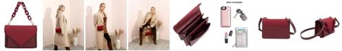 Melie Bianco Dawn Small Vegan Leather Crossbody